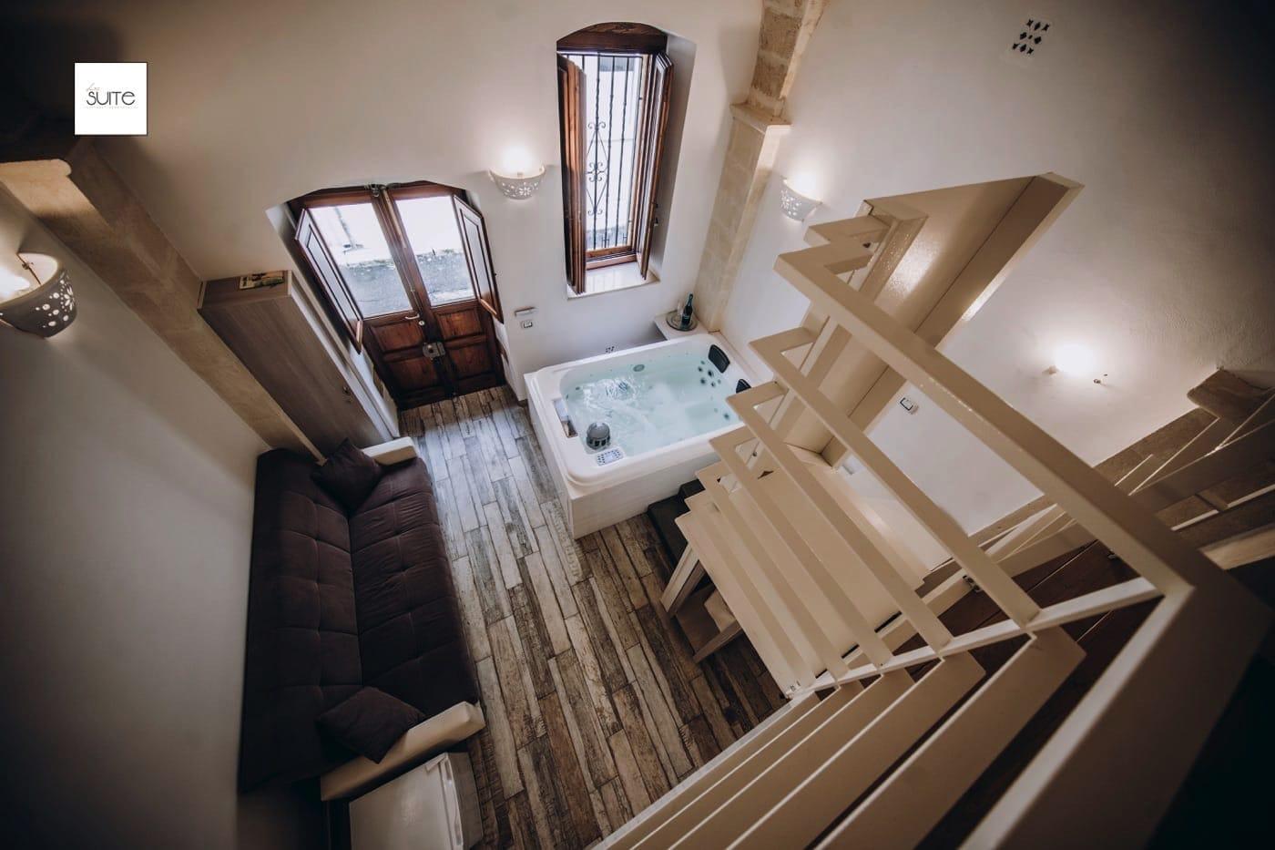 Suite con vasca idromassaggio per due a Pulsano